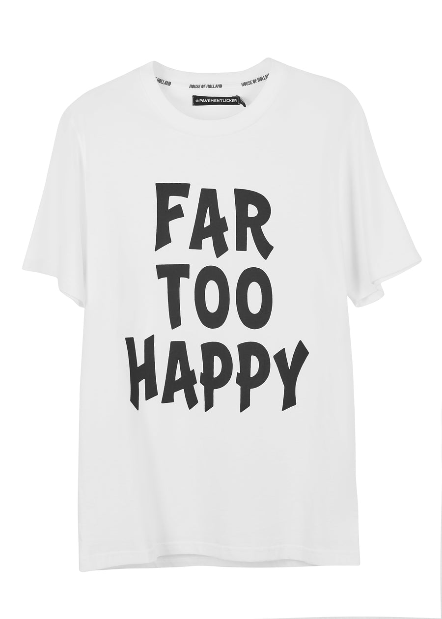 @pavementlicker 'Far Too Happy' Tee