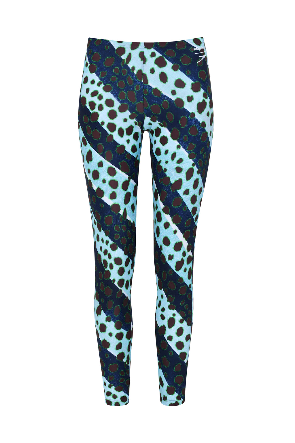 HOH X Speedo Muted Cheetah Stripe Leggings