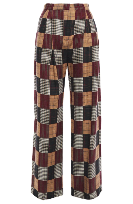 Patchwork Wide Trousers