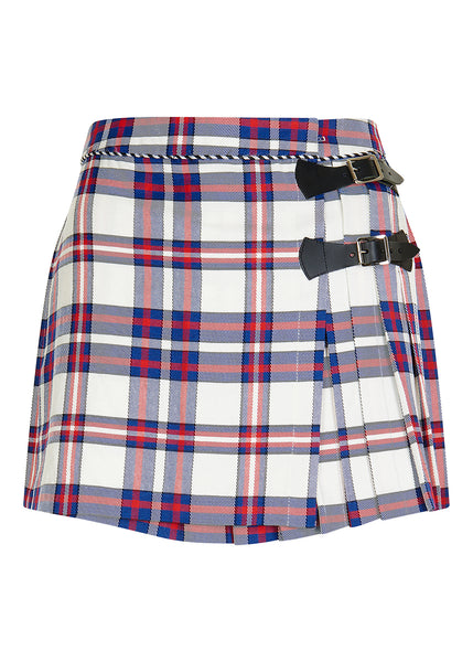 RED TARTAN MINI KILT