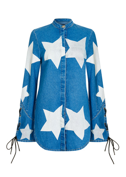 BLUE STAR SHIRT