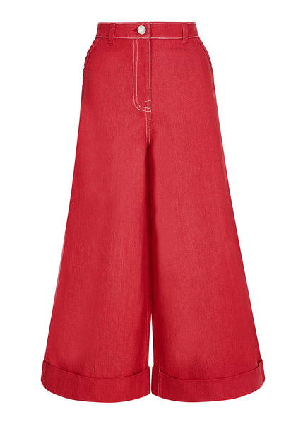 RED STAR POCKET CULOTTE