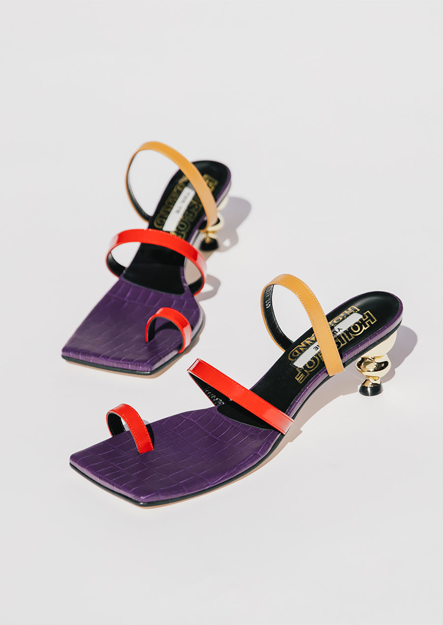 Yuul Yie x House of Holland Sunrise Sandal (Violet)