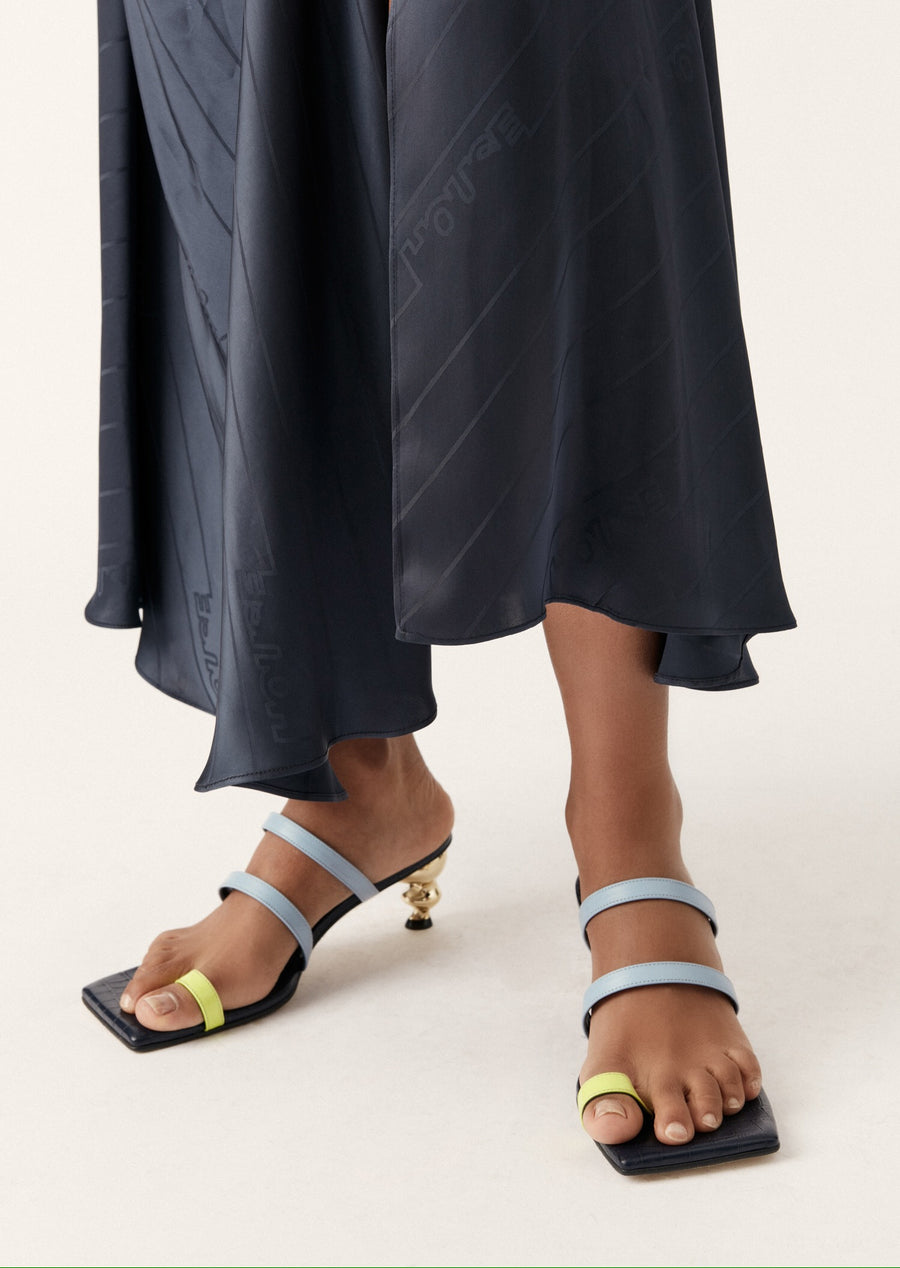 Yuul Yie x House of Holland Sunrise Sandal (Navy)