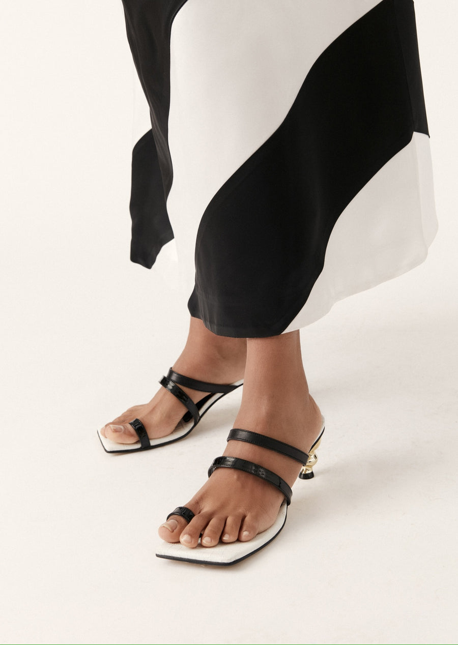 Yuul Yie x House of Holland Sunrise Sandal (White)