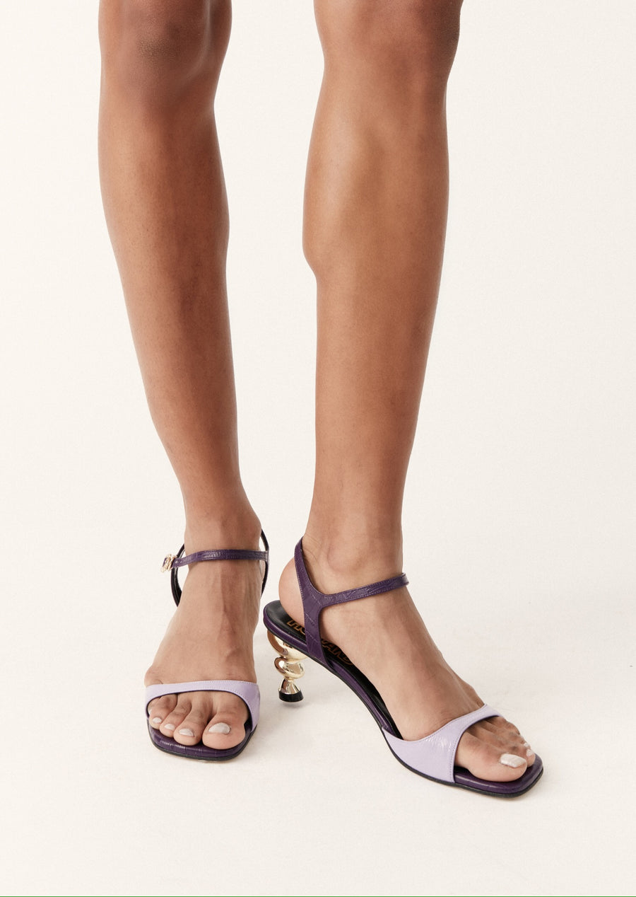 Yuul Yie x House of Holland Sunset Sandal (Purple)
