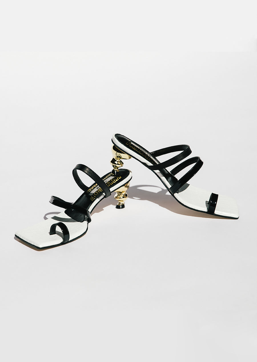 Yuul Yie x House of Holland Sunrise Sandal (Blanc)