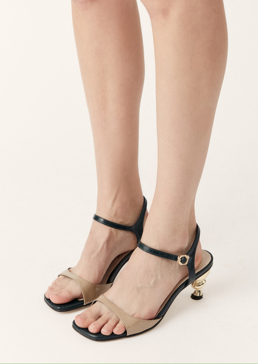 Yuul Yie x House of Holland Sunset Sandal (Beige)