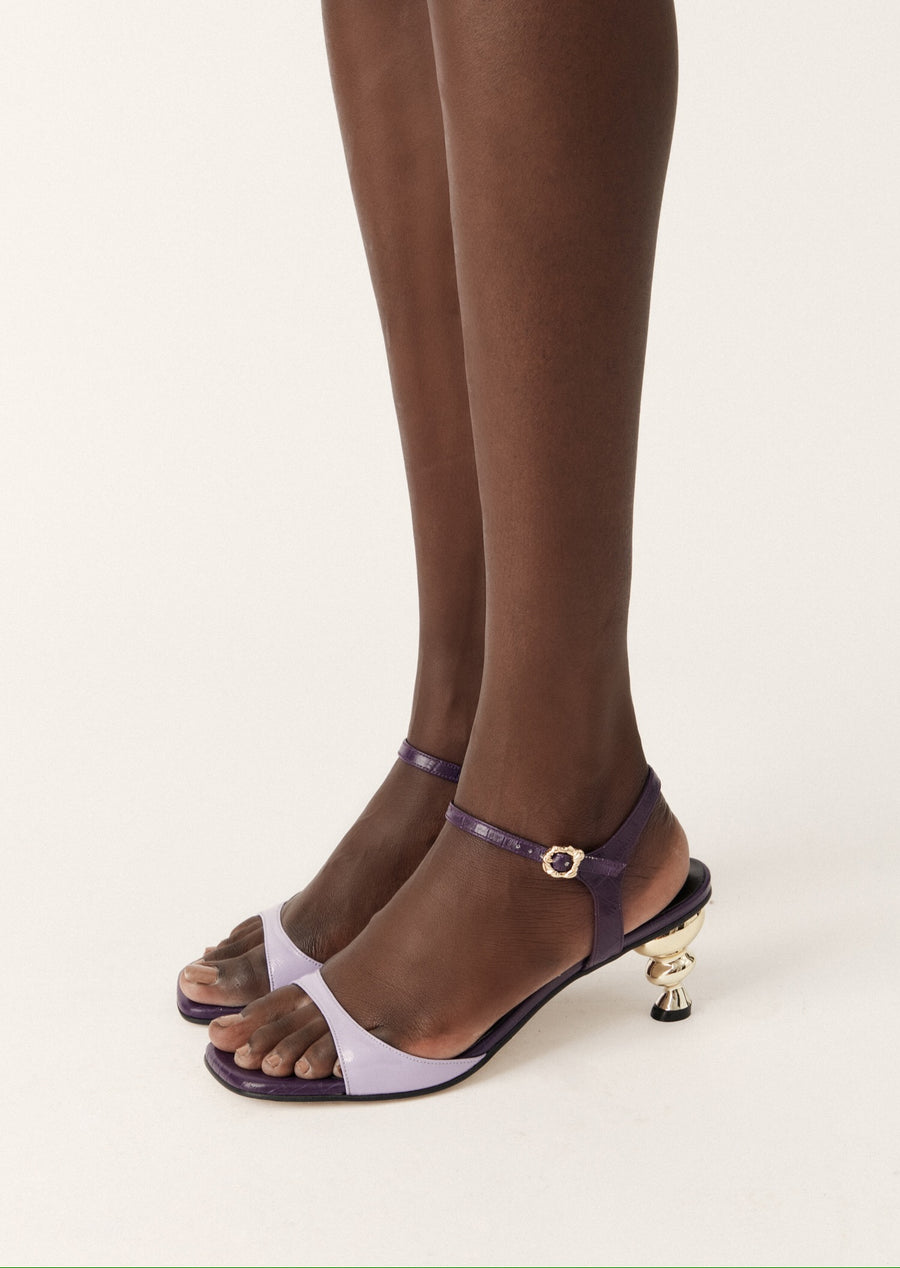 Yuul Yie x House of Holland Sunset Sandal (Violet)