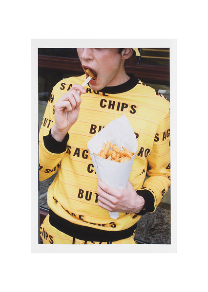 'Chips' Print Signed by Martin Parr
