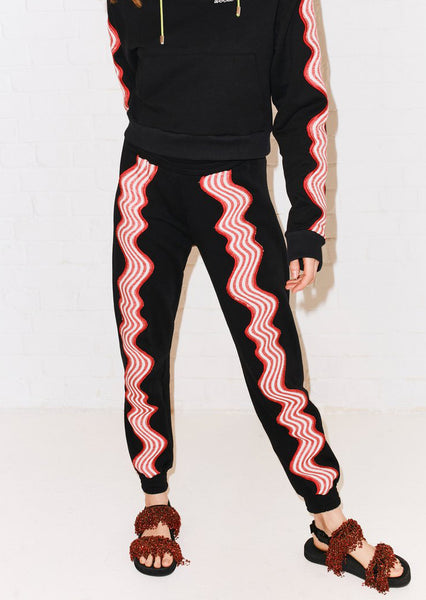 WAVE APPLIQUÉ SWEATPANT