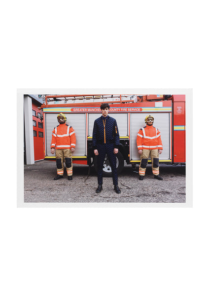Fireman' Print Signed by Martin Parr