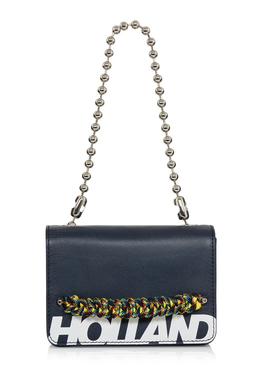 'Margot' Cross Body Bag (Navy)