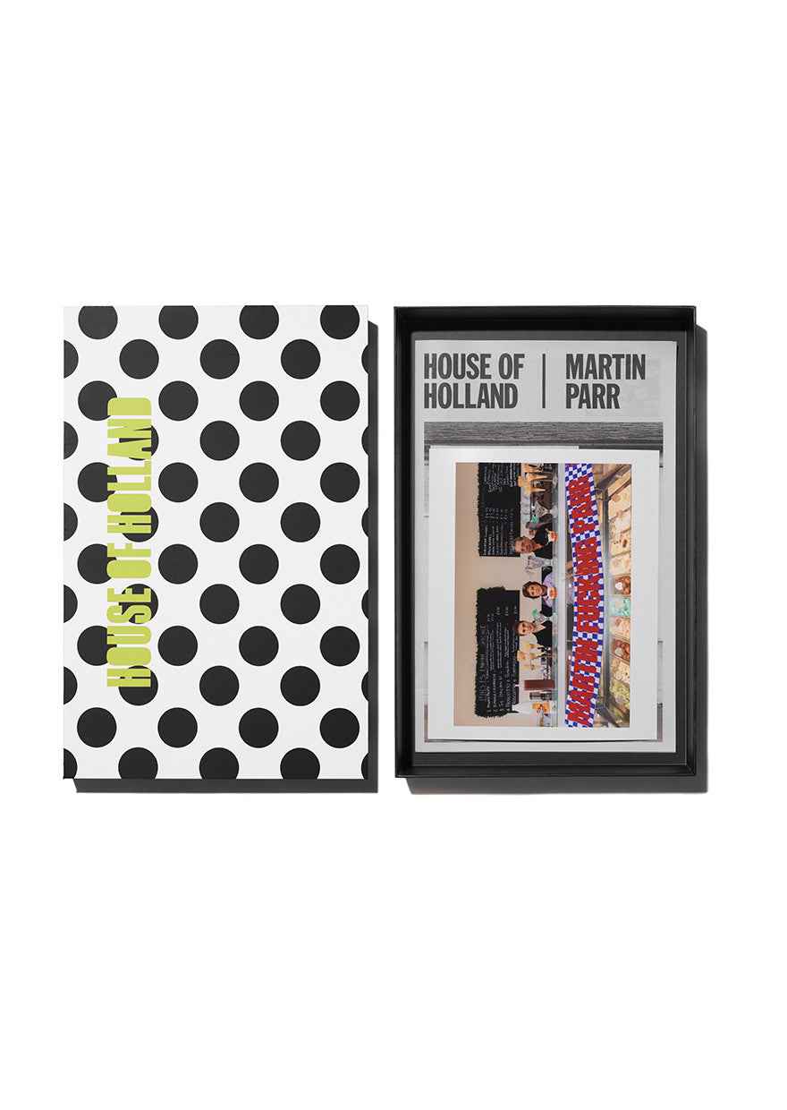 'Martin Fucking Parr' Print Signed by Martin Parr