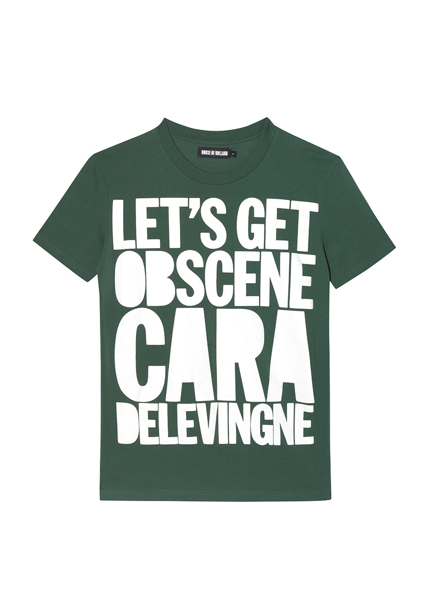 10Th Anniversary Tshirt Cara  (Green)