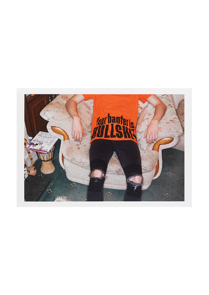 'Your Banter Is Bullshit' Print Signed by Martin Parr