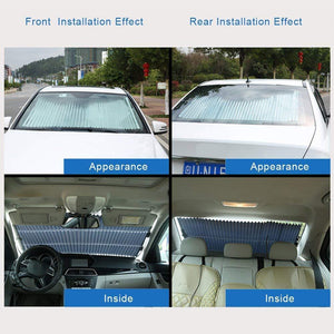 50% OFF - Car Windshield Sun Shade