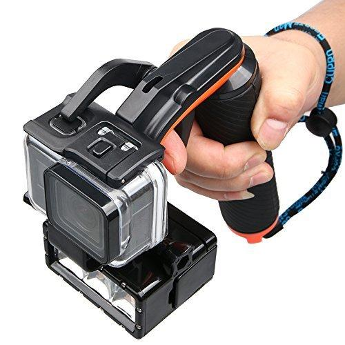 Action Camera Shutter Stabilizer-Waterproof Floating Hand Grip