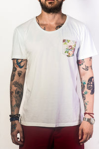 Camiseta Pocket Bluemen - Citiz Beach Wear