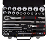 "WURTH 1/4"" AND 1/2"" SOCKET SET (59PCS)"