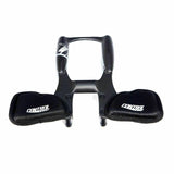 CONTROLTECH AERO COCKPIT CARBON CLAMP DIA 31.8 GRAY DECAL