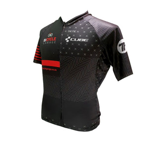 BICYCLE GARAGE JERSEY (MEN'S SHORT SLEEVE)