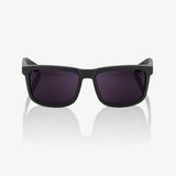 bicycle-garage - 100% BLAKE - SOFT TACT MIDNIGHT MAUVE - PURPLE LENS -