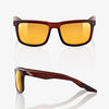 bicycle-garage - 100% BLAKE - SOFT TACT ROOTBEER - GOLD LENS -