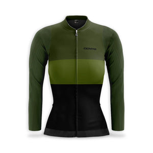 CIOVITA LADIES OLIVA LONG SLEEVE JERSEY