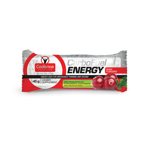 Bicycle Garage - CADENCE NUTRITION - CARBOFUEL ENERGY BAR