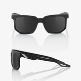 bicycle-garage - 100% CENTRIC - MATTE BLACK - SMOKE LENS -