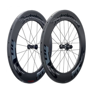 DEDA SL88 CARBON TUBULAR WHEELSET POB FINISH