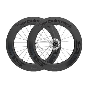 DEDA SL88TDB CARBON TUBULAR WHEELSET - POB FINISH