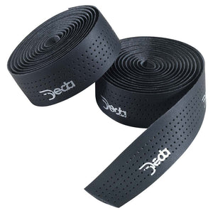 bicycle-garage - DEDA HANDLEBAR TAPE BLACK LEATHER -