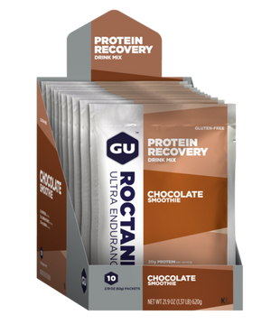 bicycle-garage - GU RECOVERY SACHET CHOCOLATE SMOOTHIE - 12 SACHETS -