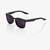 bicycle-garage - 100% HUDSON - SOFT TACT MIDNIGHT MAUVE - PURPLE LENS -