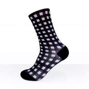 SOX MONOCHROME GINGHAM