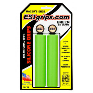 bicycle-garage - ESI GRIP RACER'S EDGE GREEN -