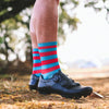 bicycle-garage - SOX - PREMIUM LONG - STRIPES RED/BLUE -