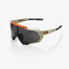 bicycle-garage - 100% SPEEDTRAP - SOFT TACT QUICKSAND - SMOKE LENS -