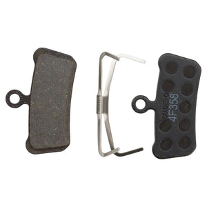SRAM DISC PAD ORG/STEEL - TRAIL/GUIDE