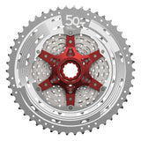 SUNRACE CASSETTE SPROCKET MX80 11S METALIC SILVER