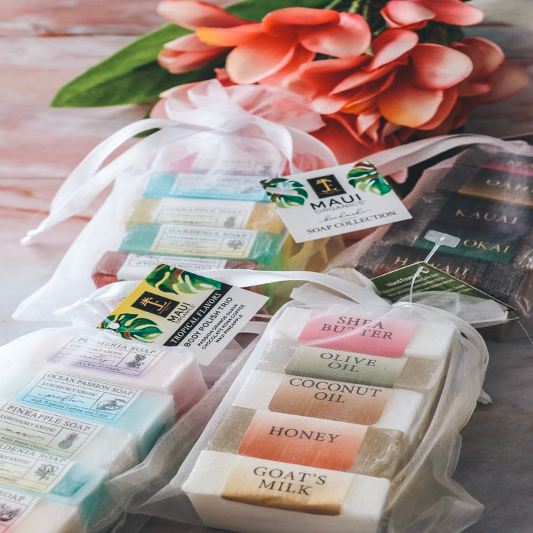 Naturals Unscented Mini Soap Collection