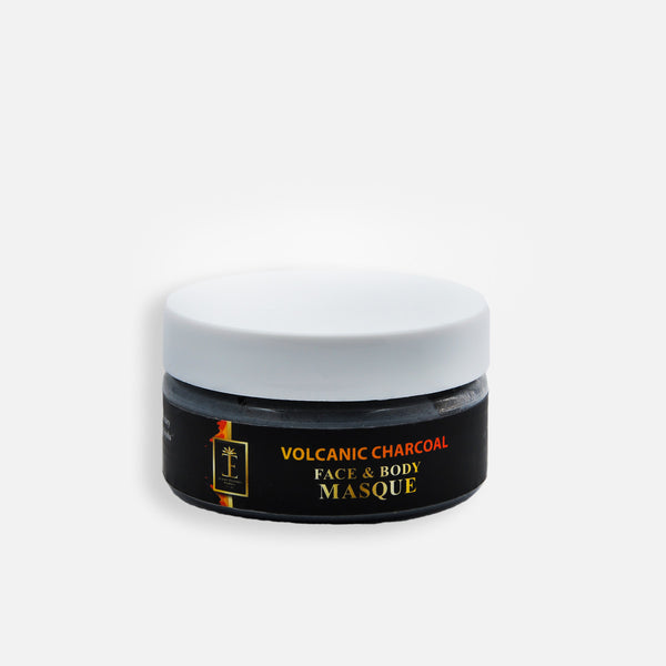 Volcanic Charcoal Face & Body Masque