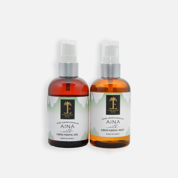 Aina (Earth) Hawaiian Aromatherapy Grounding Oil & Mist
