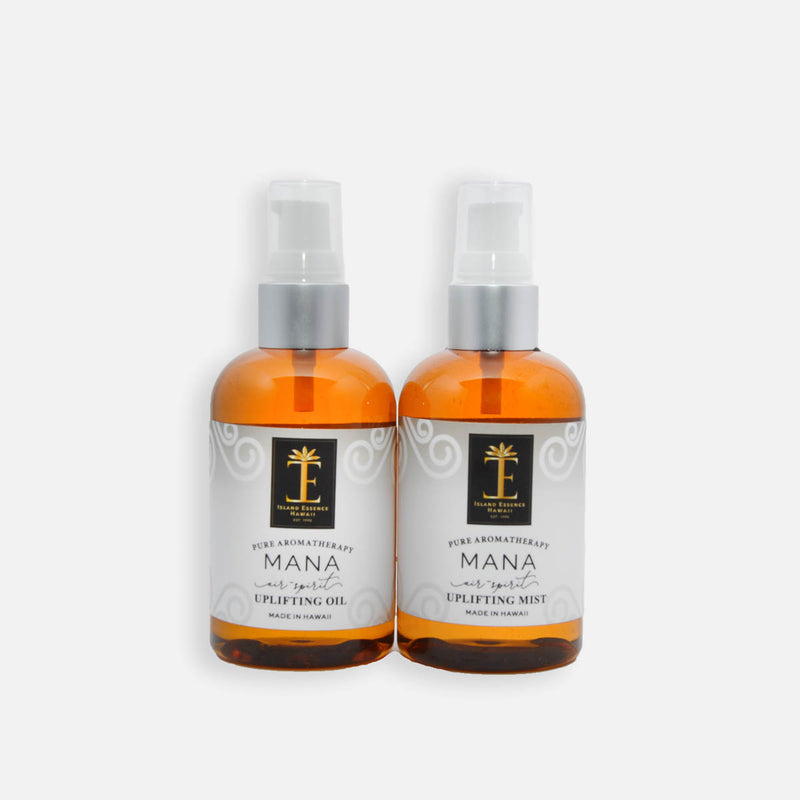 Mana (Air/Spirit) Hawaiian Aromatherapy Uplifting Oil & Mist Duo