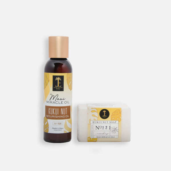 Kukui Nut Nourishing Oil & Soap