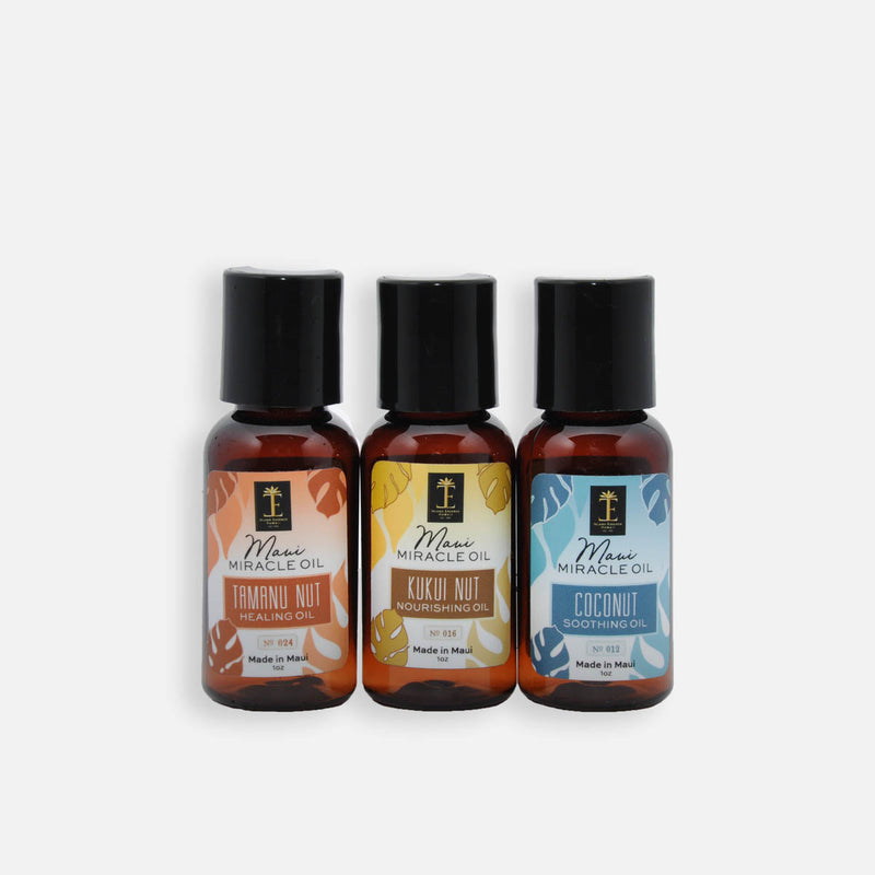 The Maui Miracle Oil Trio
