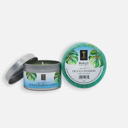 Pacific Ocean Passion Candle and Loofah Duo