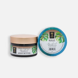 Big Island Vanilla Body Butter and Loofah Soap Duo